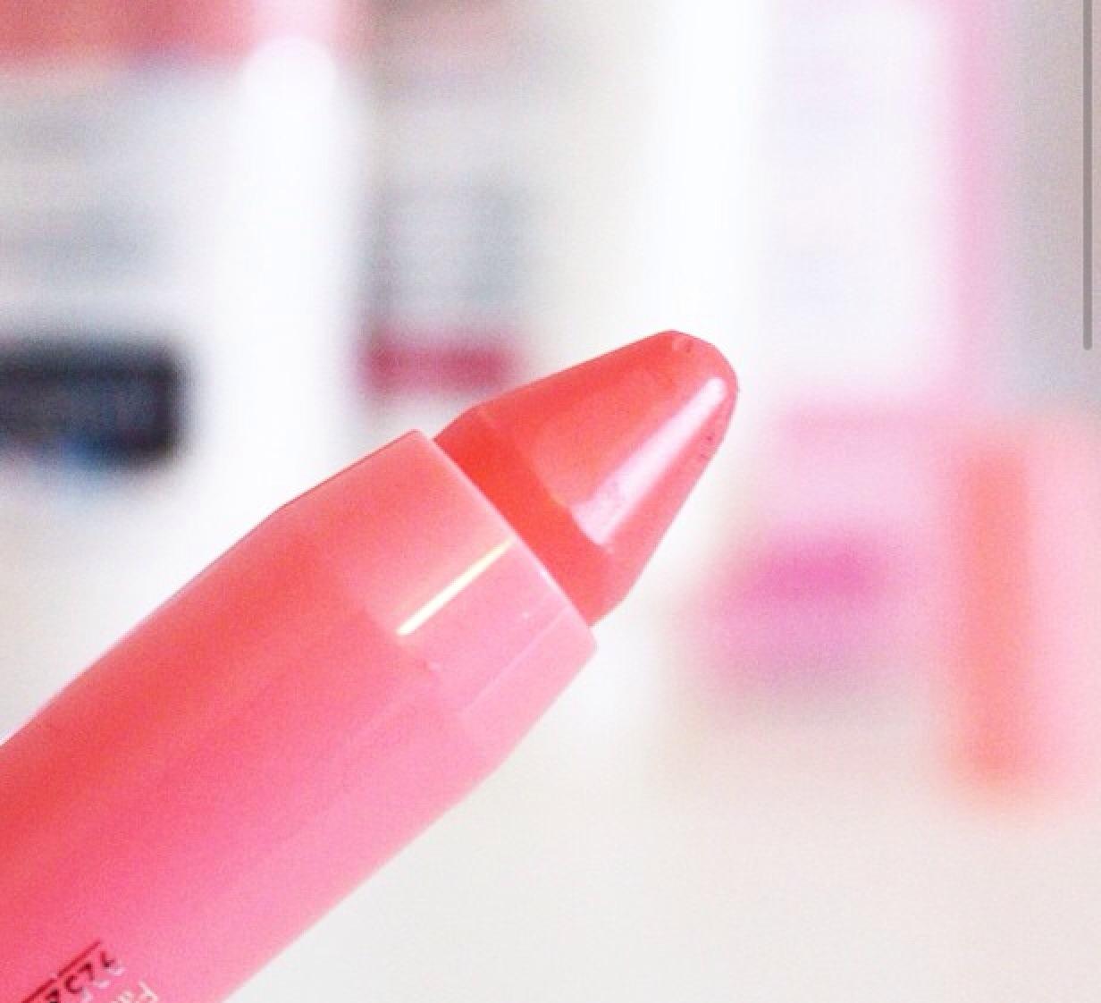 Bourjois peach lip crayon