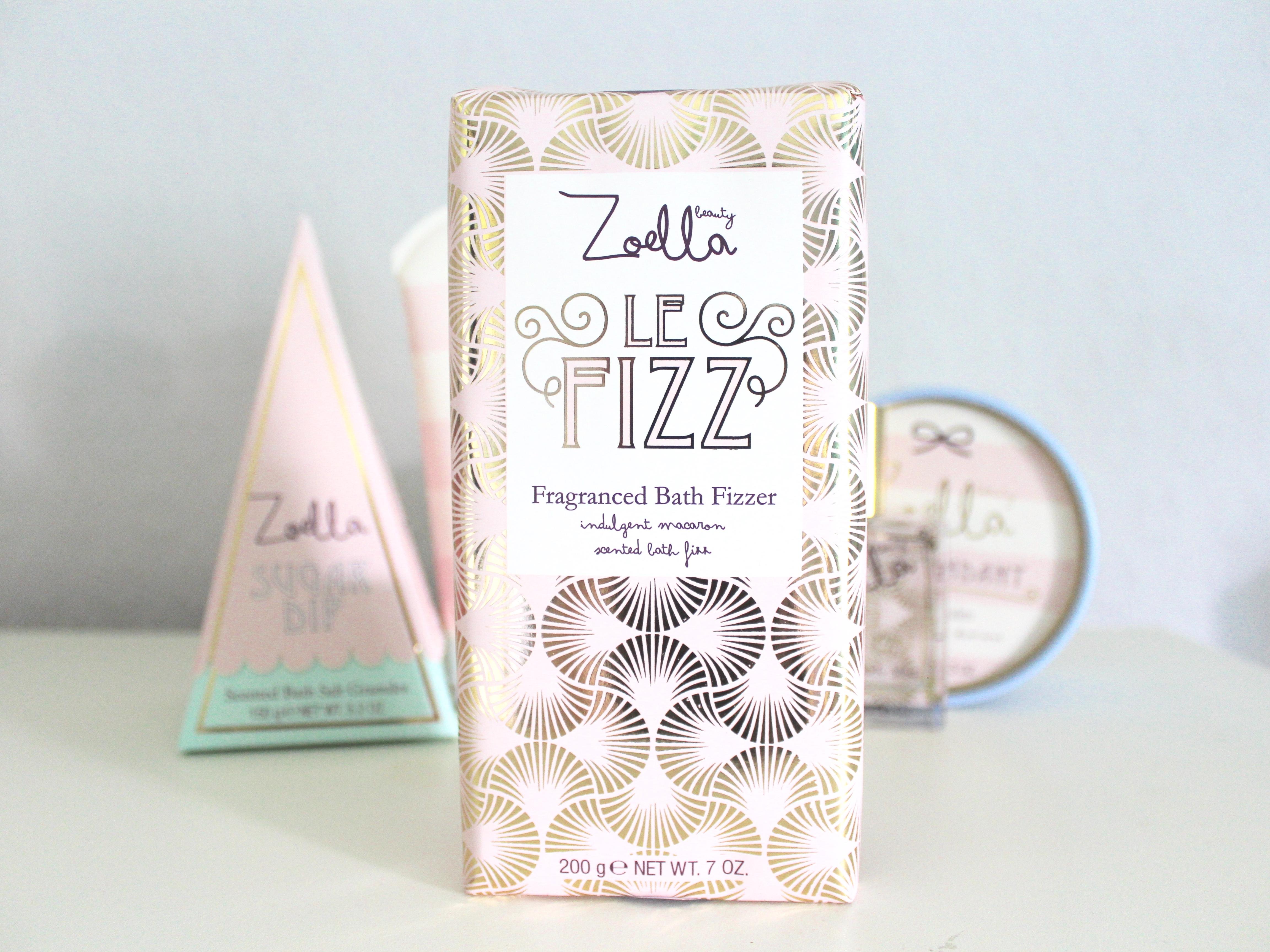 Zoella beauty bath fizz