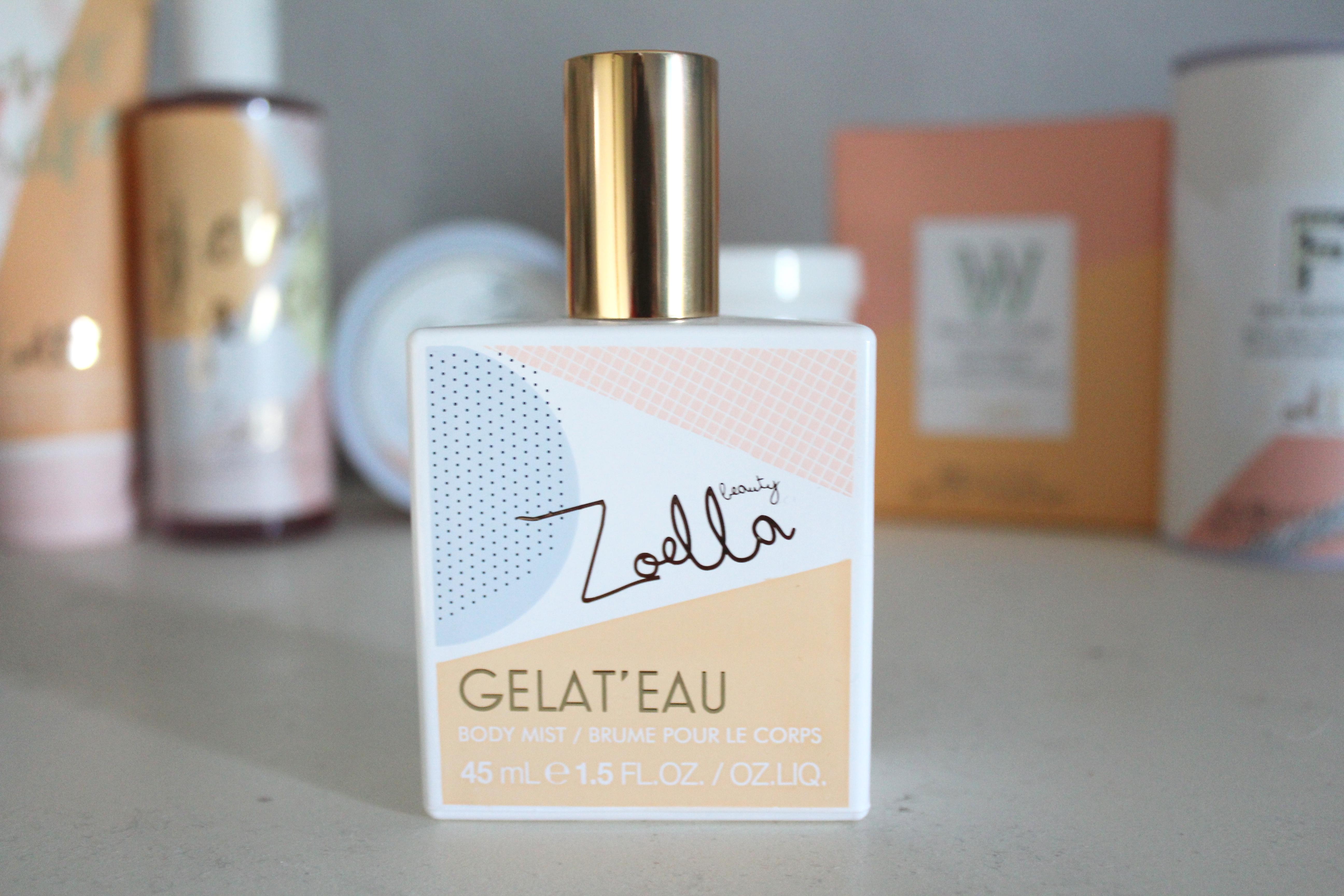 Zoella gelat'eau body mist