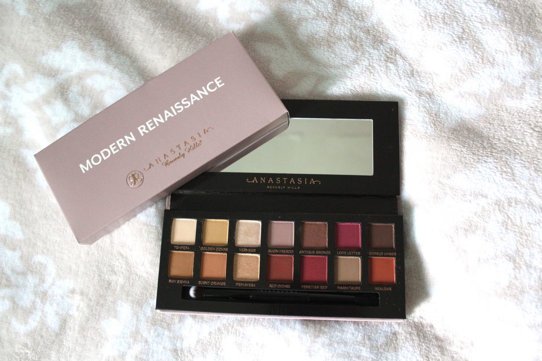 A photo of the Anastasia modern renaissance palette