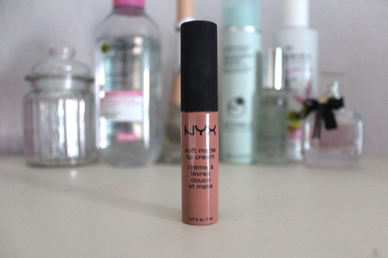 A photo of the NYX soft matte lip cream